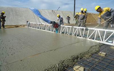 Civil & Building works for construction of the Bemlamd Power Station at Saramacca, Paramaribo, Suriname
